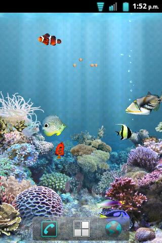 fondos acuarios movibles: